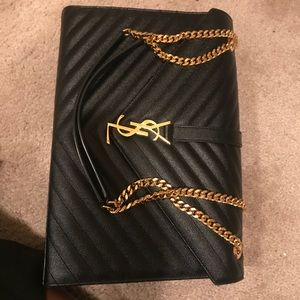 YSL Large Envelope Chain Bag